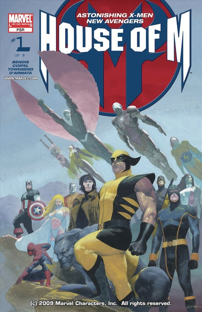 House of M 1 cover