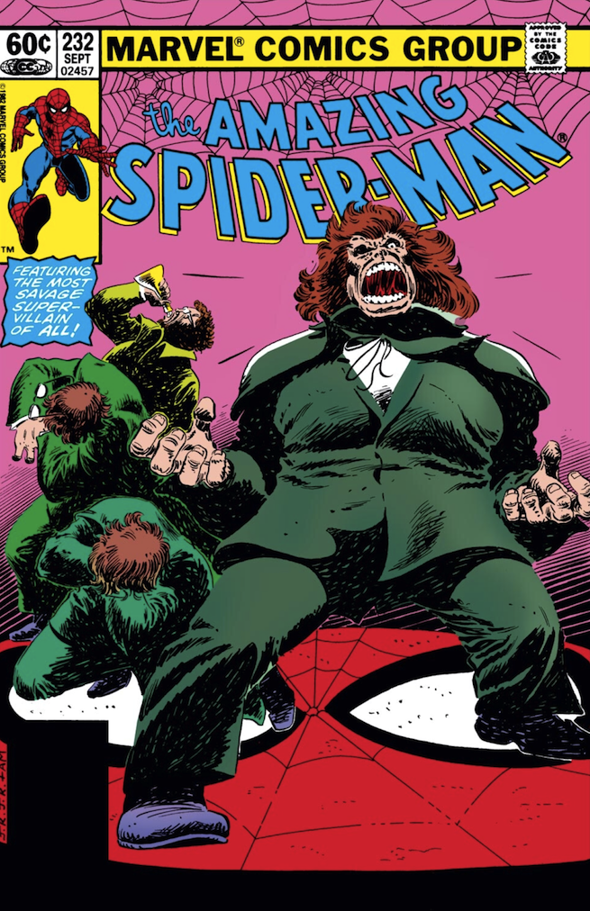 Hyde Amazing Spider-Man 232 cover