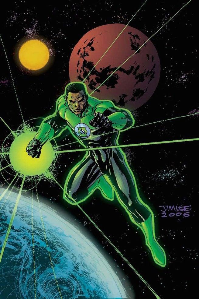Jim Lee Green Lantern by Inkblotzart