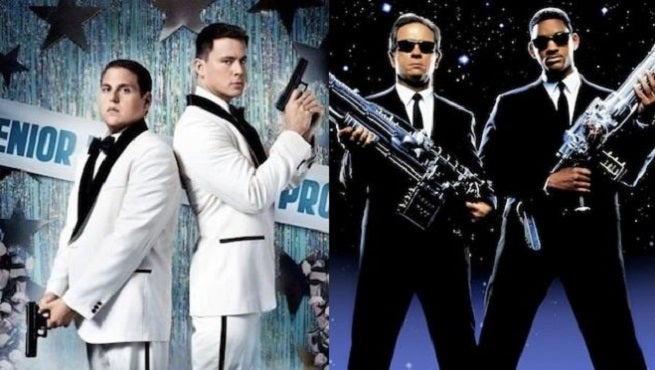 The Men In Black - 21 Jump Street Crossover MIB 23 Gets a Logo