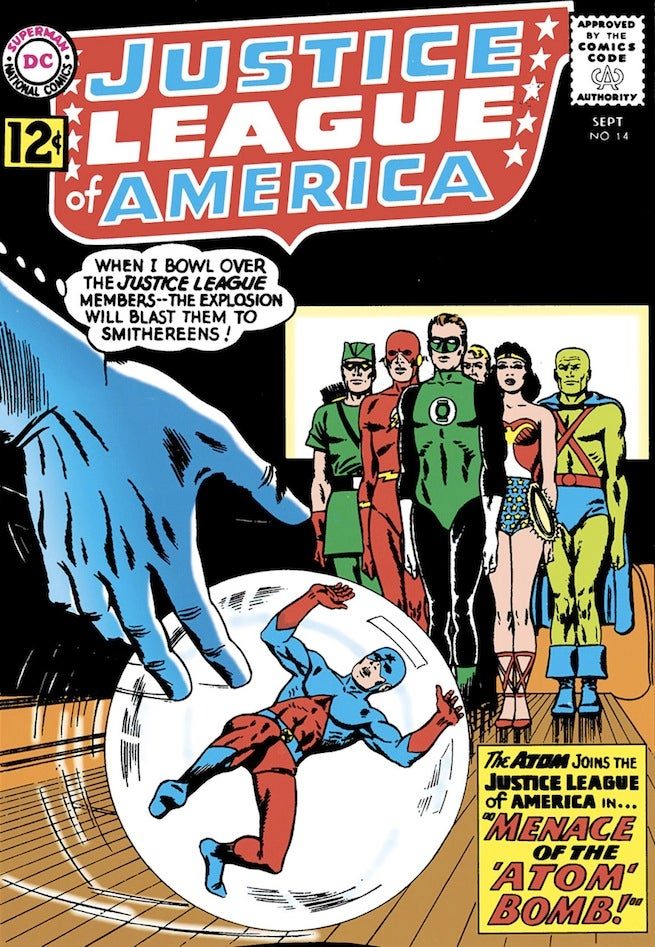 Justice League of America 14 cover