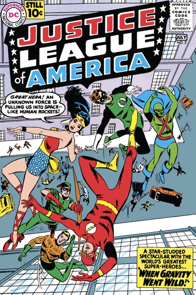 Justice League of America 5 cover