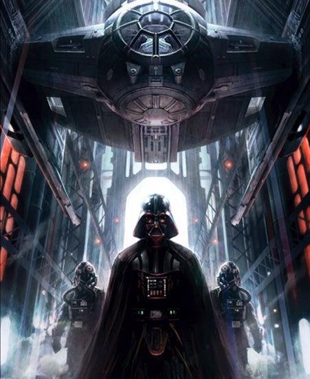 Machines of Dominon Raymond Swanland Star Wars Comic Con 2014 Ltd