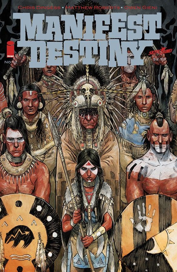 Manifest Destiny 12 - Cover