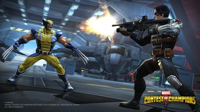 MCoC PressKit SS1-WolverineWinterSoldier-Hangar