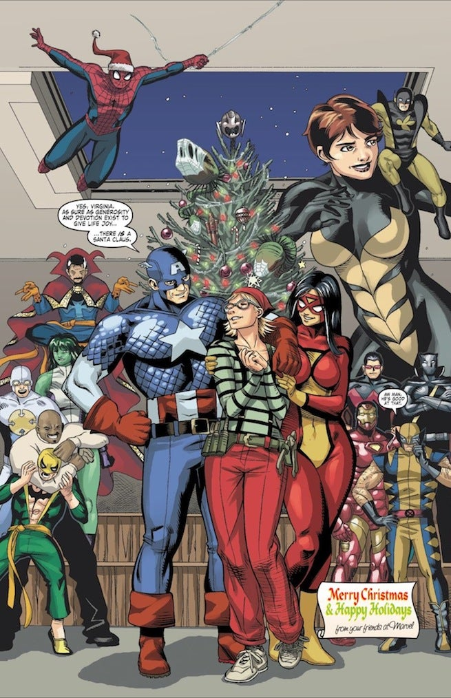 Santron Marvel Holiday Special