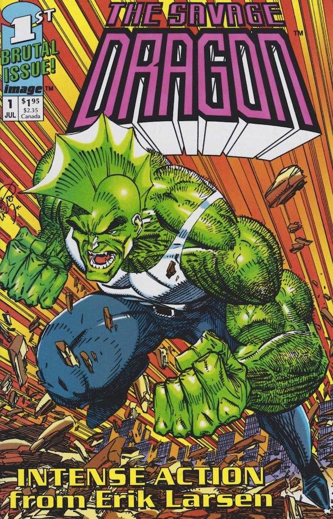 Savage Dragon 1 cover