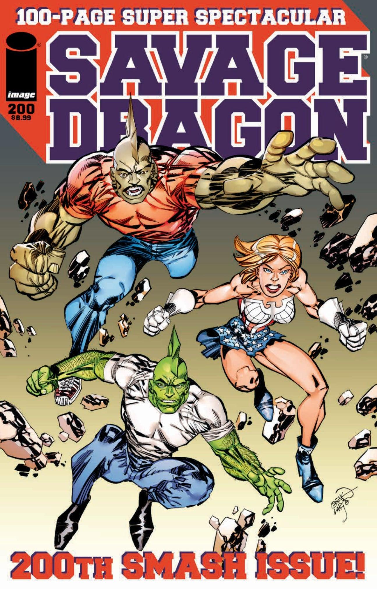 Savage Dragon 200 - Cover
