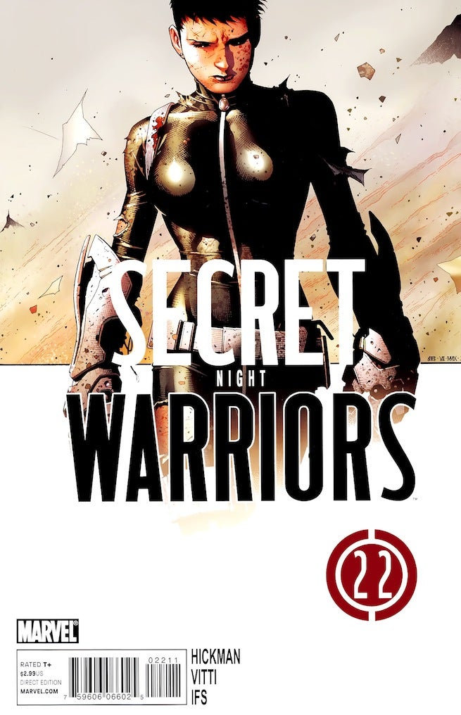 Secret Warriors 22 cover