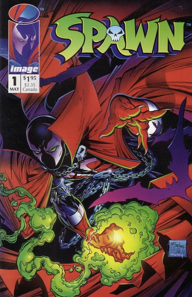 Spawn 1 cover 655