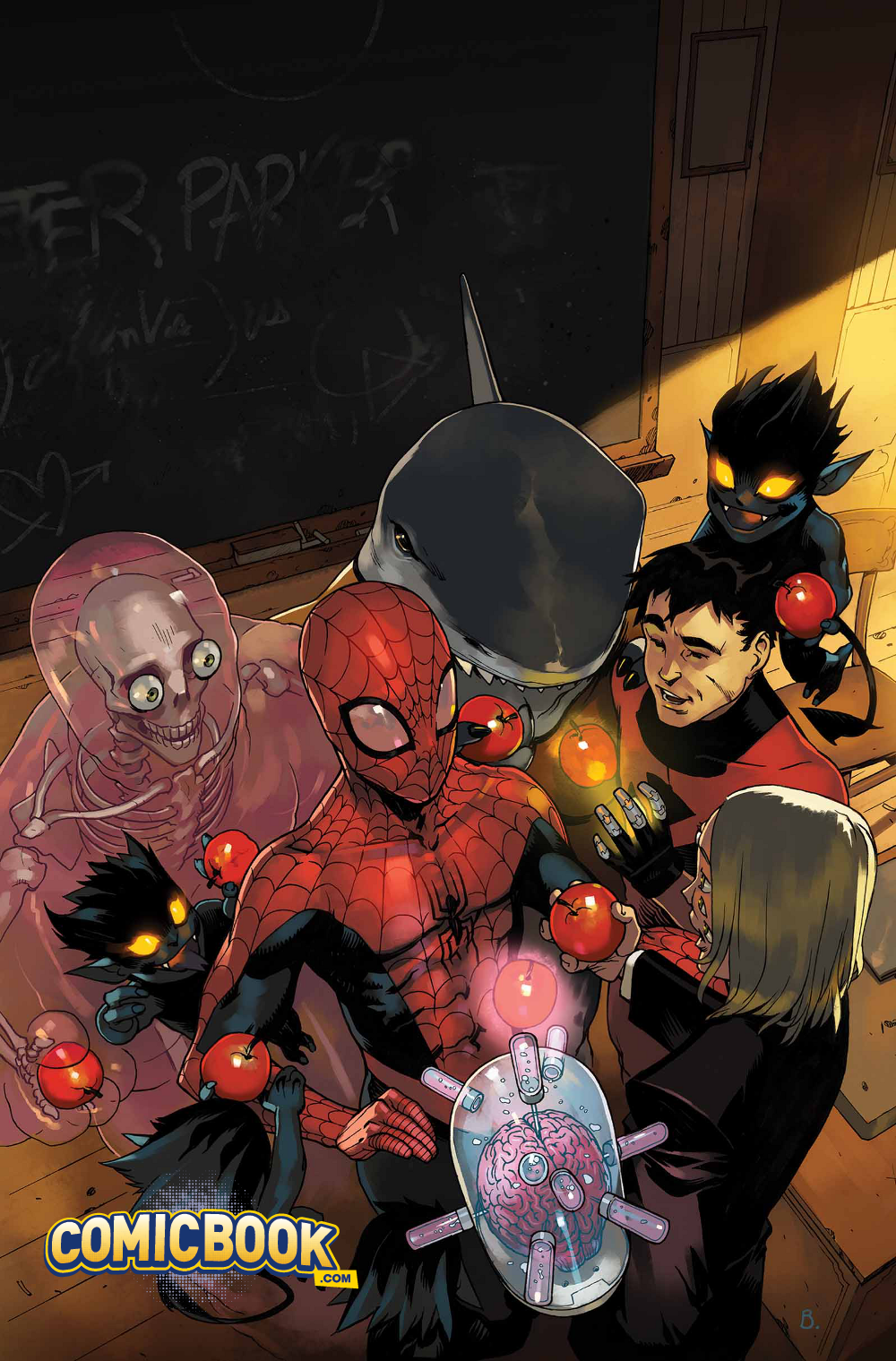 Spider-Man and the X-Men Cover