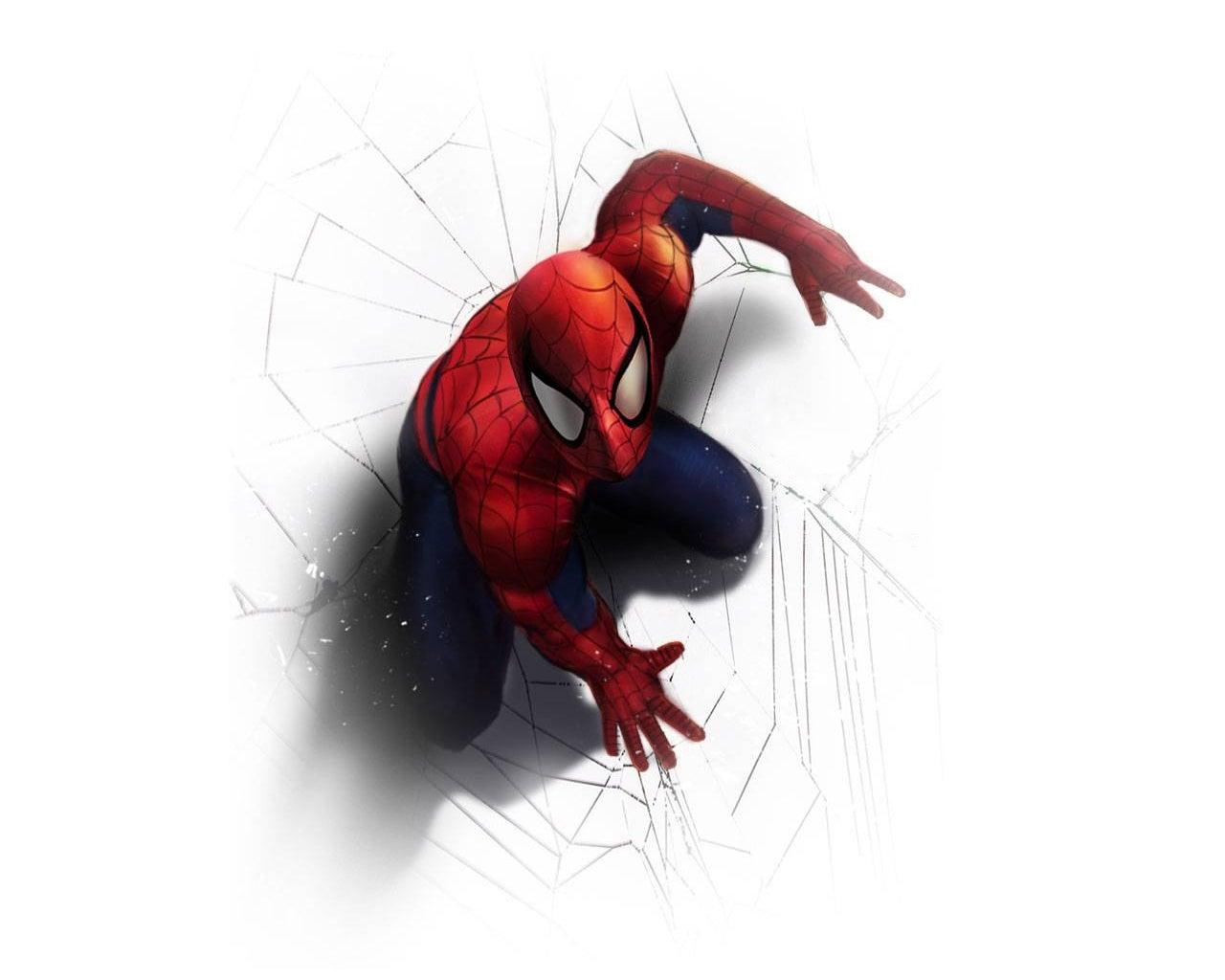spider-man-on-white