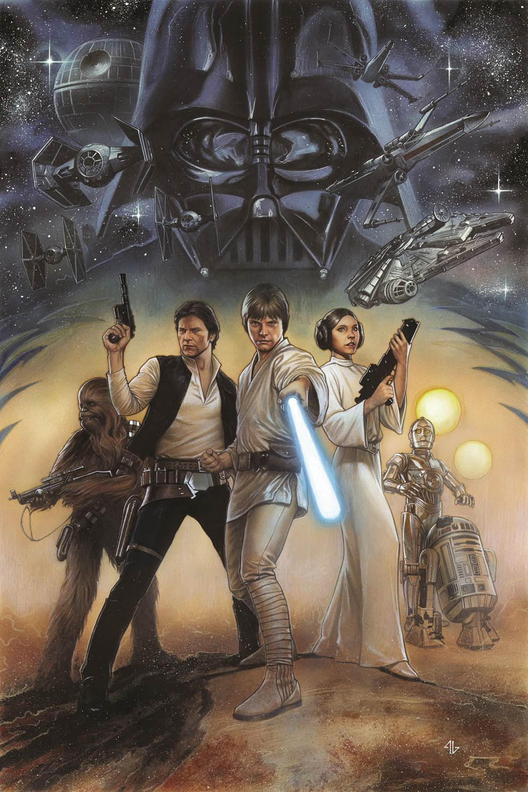 Star Wars Episode IV OGN-HC Cover Granov