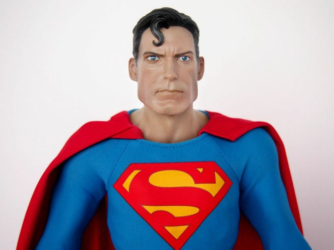 SuperMan Hot Toys 1