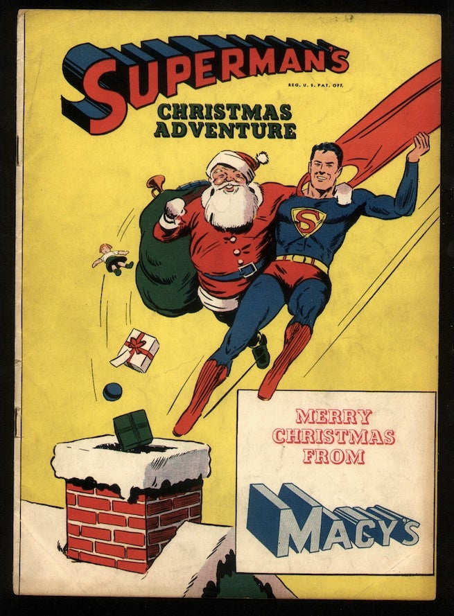 Superman's Christmas Adventure cover