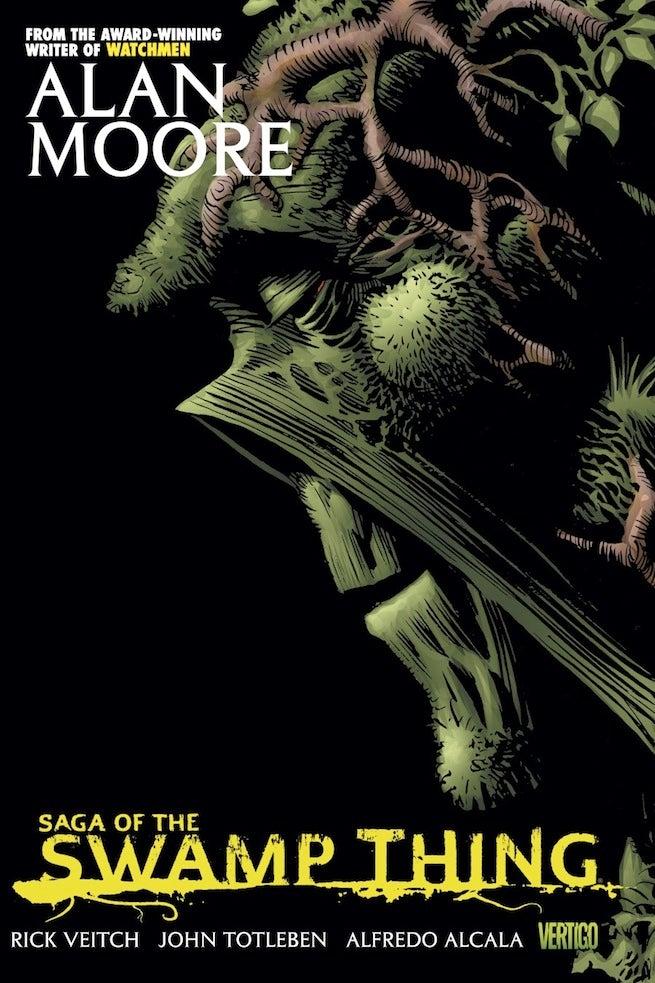 Swamp Thing Saga Alan Moore