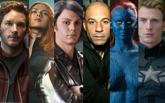 Top Comic Book Movie Actors