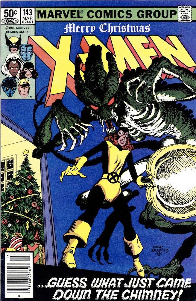 Uncanny X-Men 143 cover