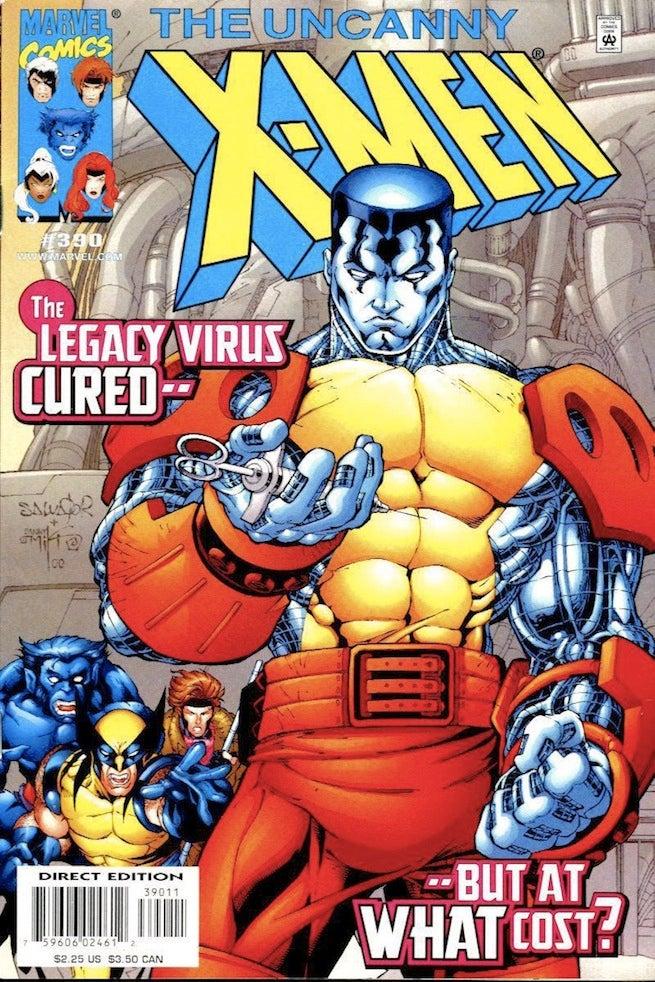 Uncanny X-Men 390 cover