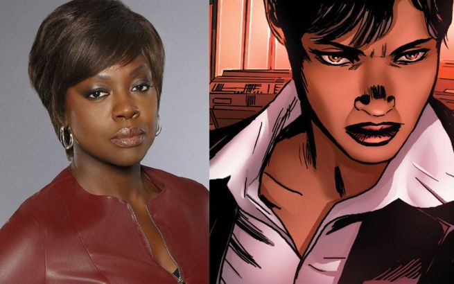 Viola Davis Cast As Amanda Waller