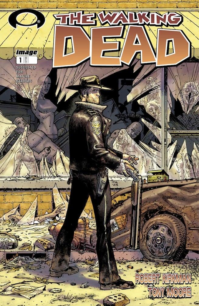 Walking Dead 1 cover