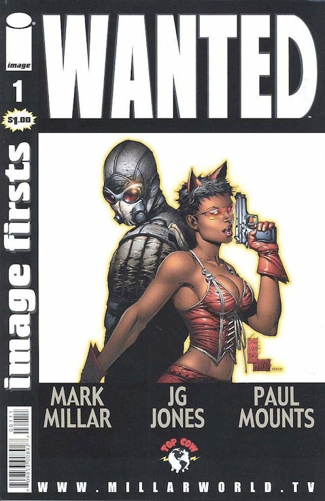 Wanted 1 cover