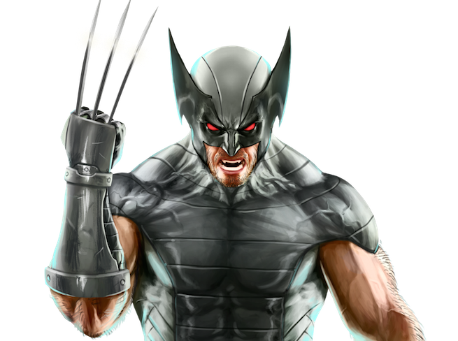 X-Force Wolverine Character Art