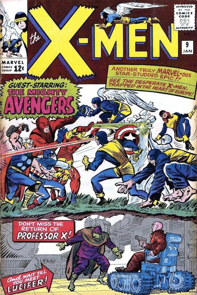 X-Men 9 cover