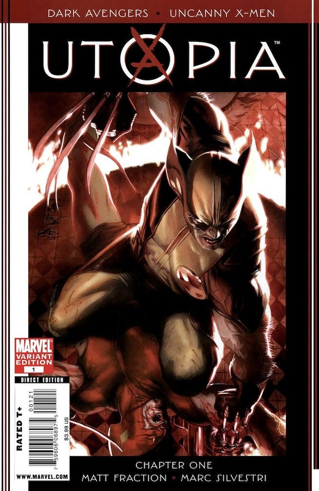 X-Men Utopia 1 cover