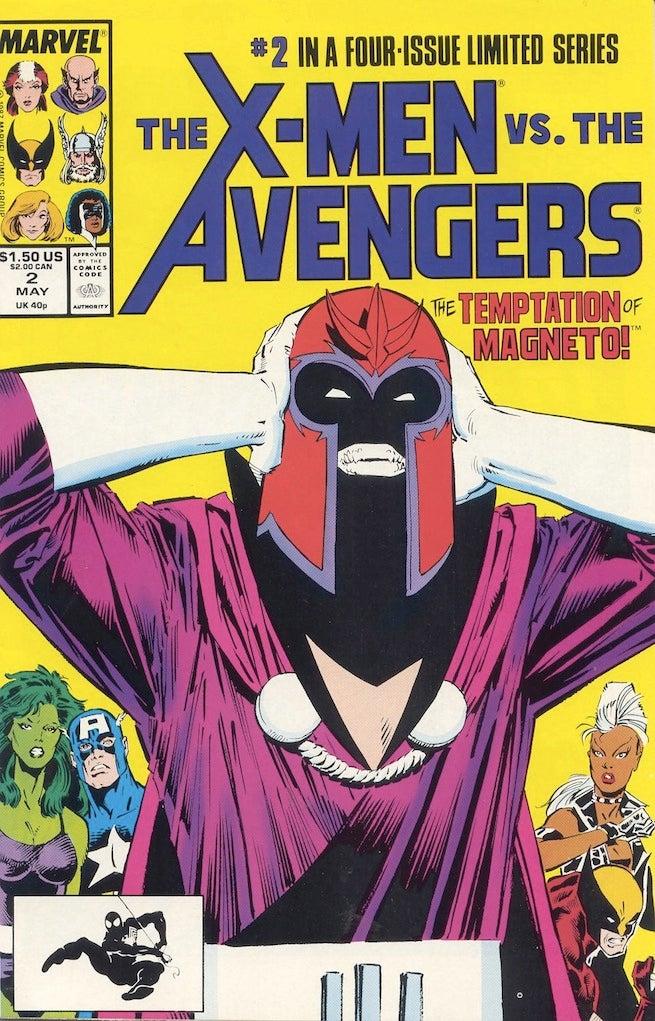 X-Men vs Avenger 2 cover