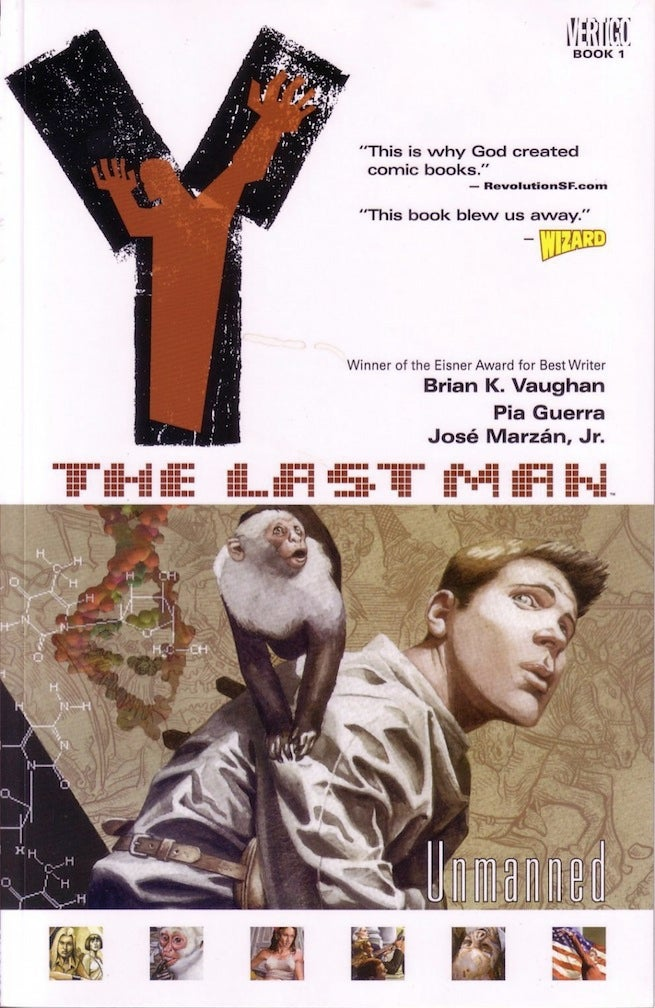 Y the Last Man TPB Book 1 cover