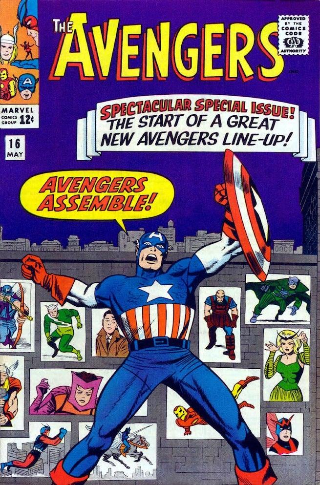 Avengers 16 cover