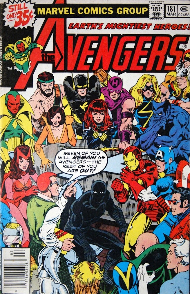 Avengers 181 cover