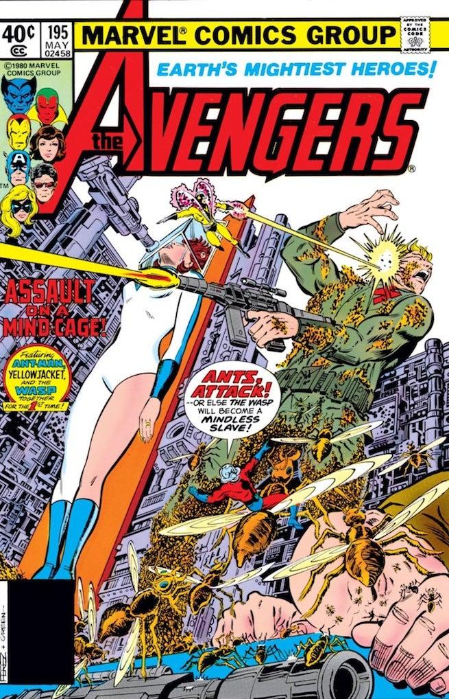 Avengers 195 cover