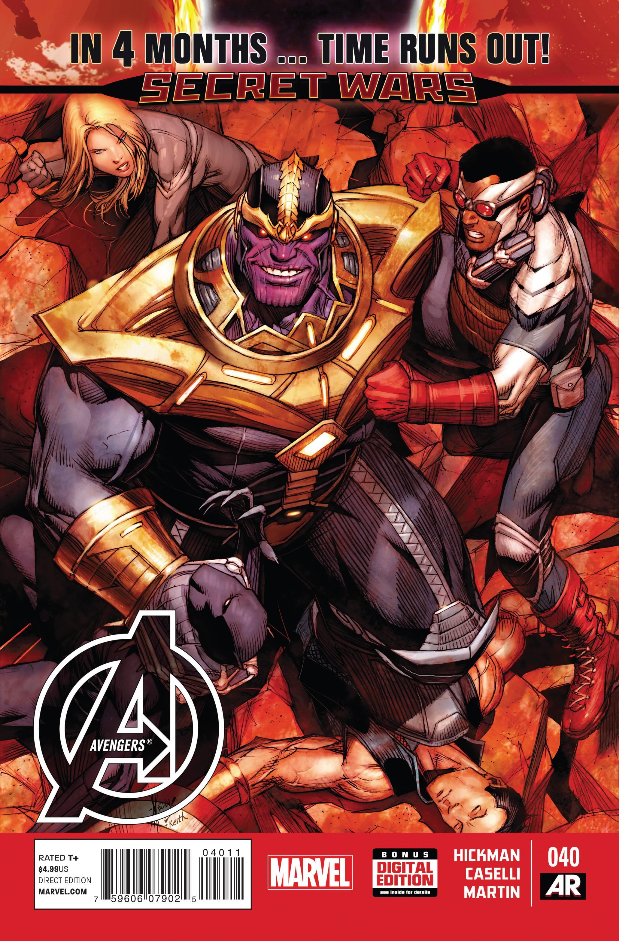 Avengers 40 - Cover