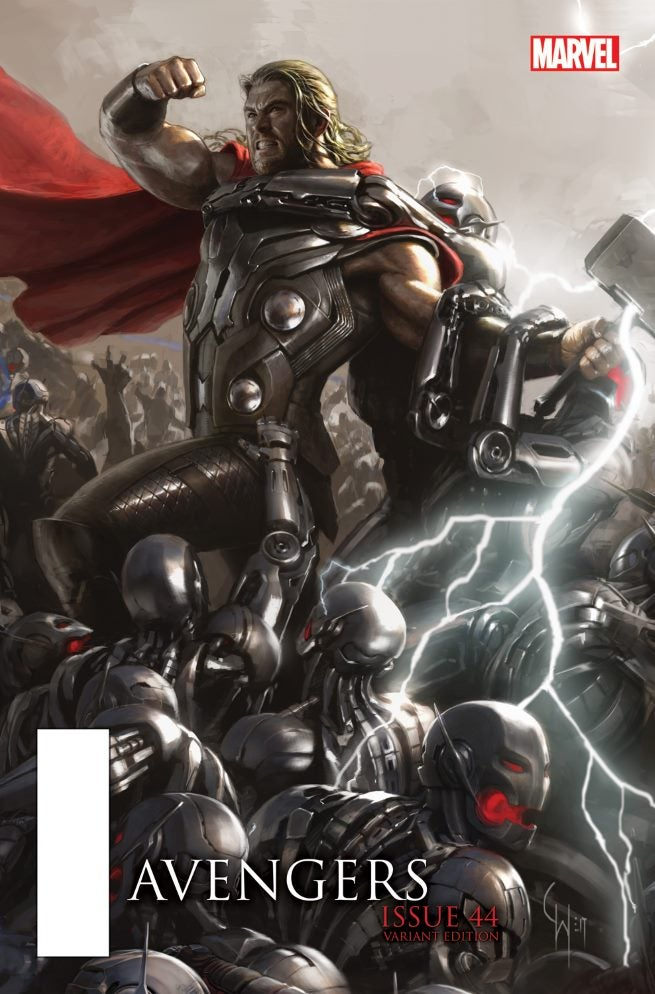Avengers 44 AU Movie Connecting Variant