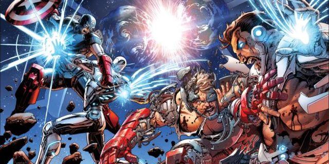 Avengers 44  New Avengers 33 Interlocking Covers