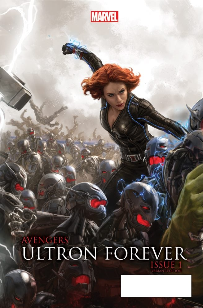 Avengers Ultron Forever 1 AU Movie Connecting Variant A