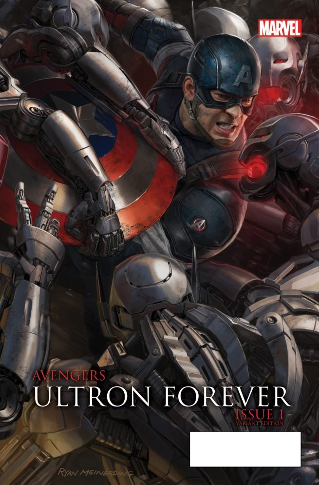 Avengers Ultron Forever 1 AU Movie Connecting Variant B