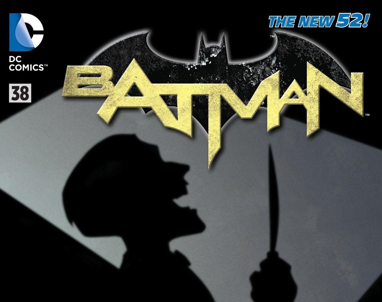 Batman 38 - Cover