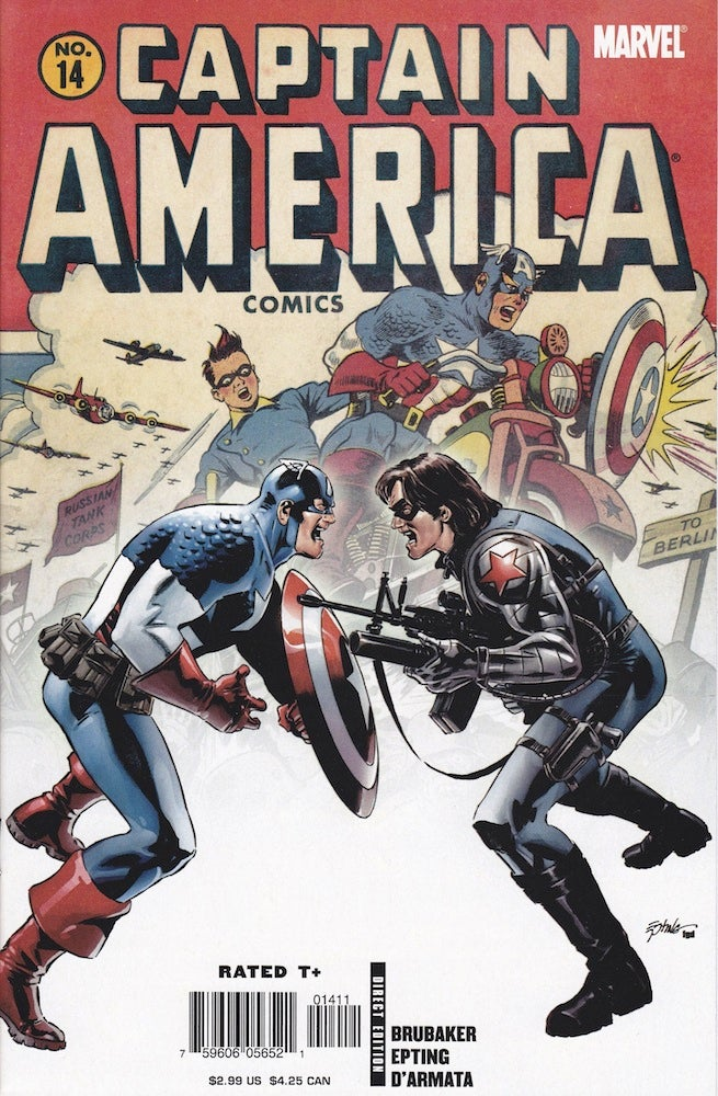 Captain America 14 cover