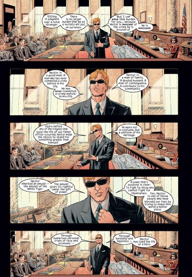 Daredevil Courtroom