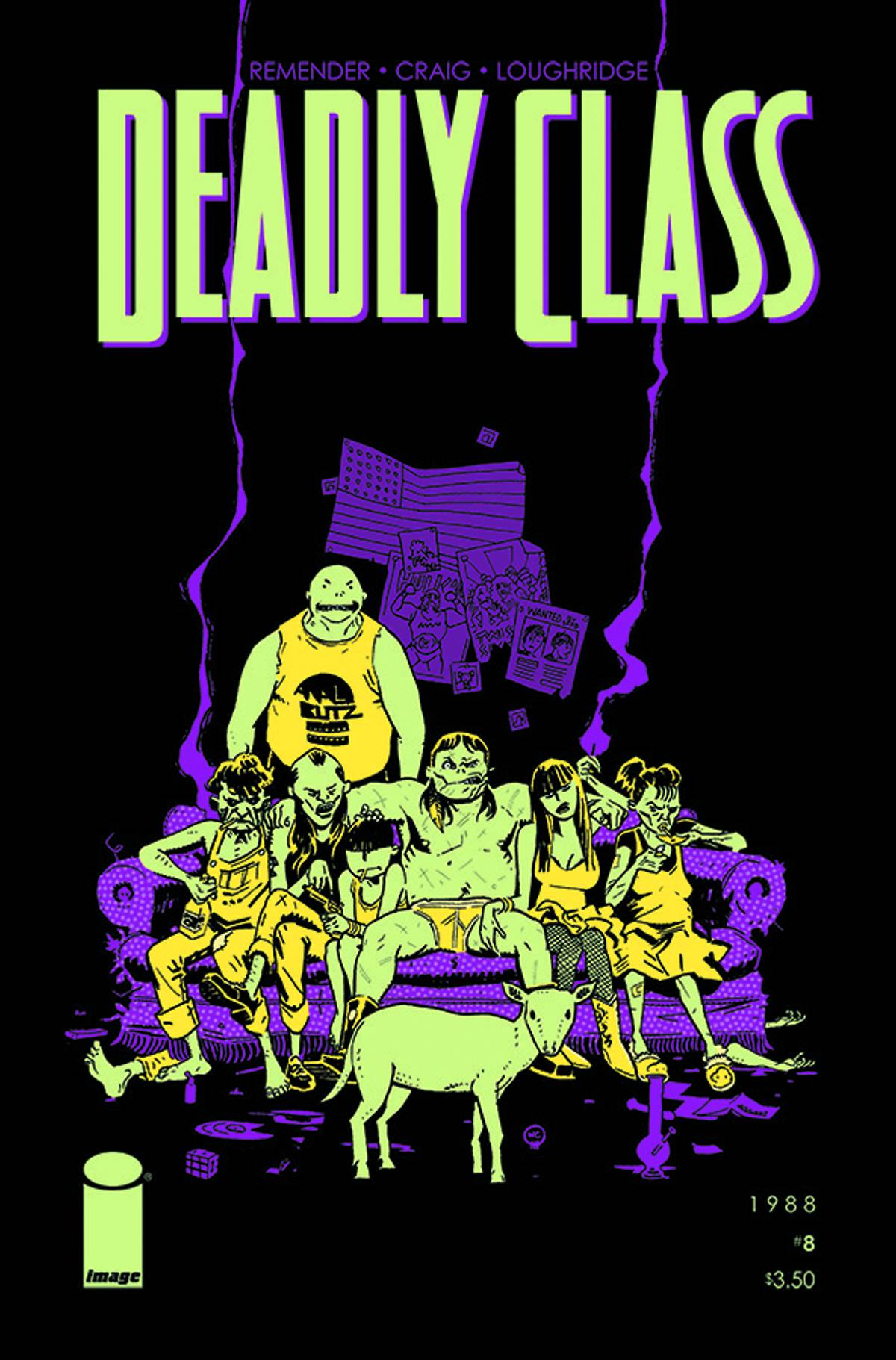 Deadly Class 10 - Cover