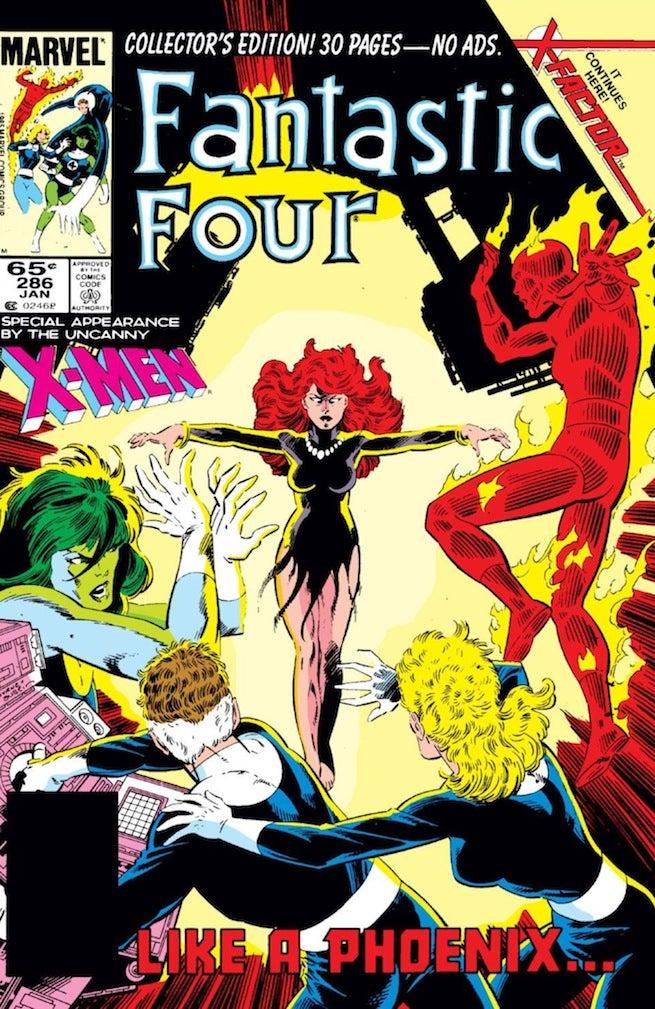 Fantastic Four 285 cover