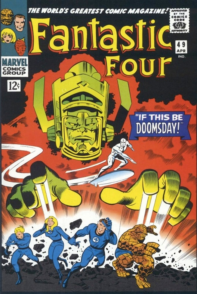 Fantastic Four 49 cover