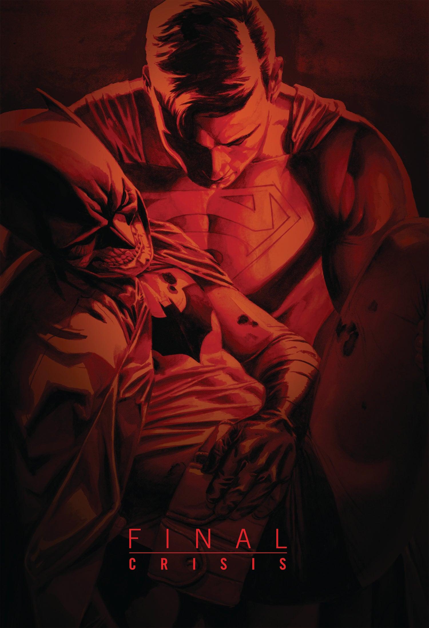 Final Crisis HC cover