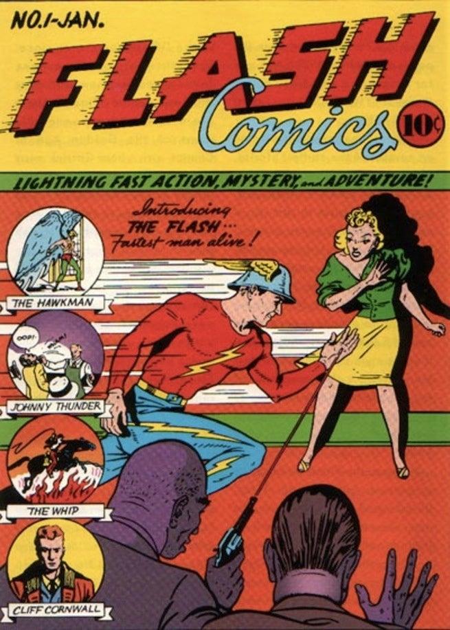 Flash Comics 1 cover