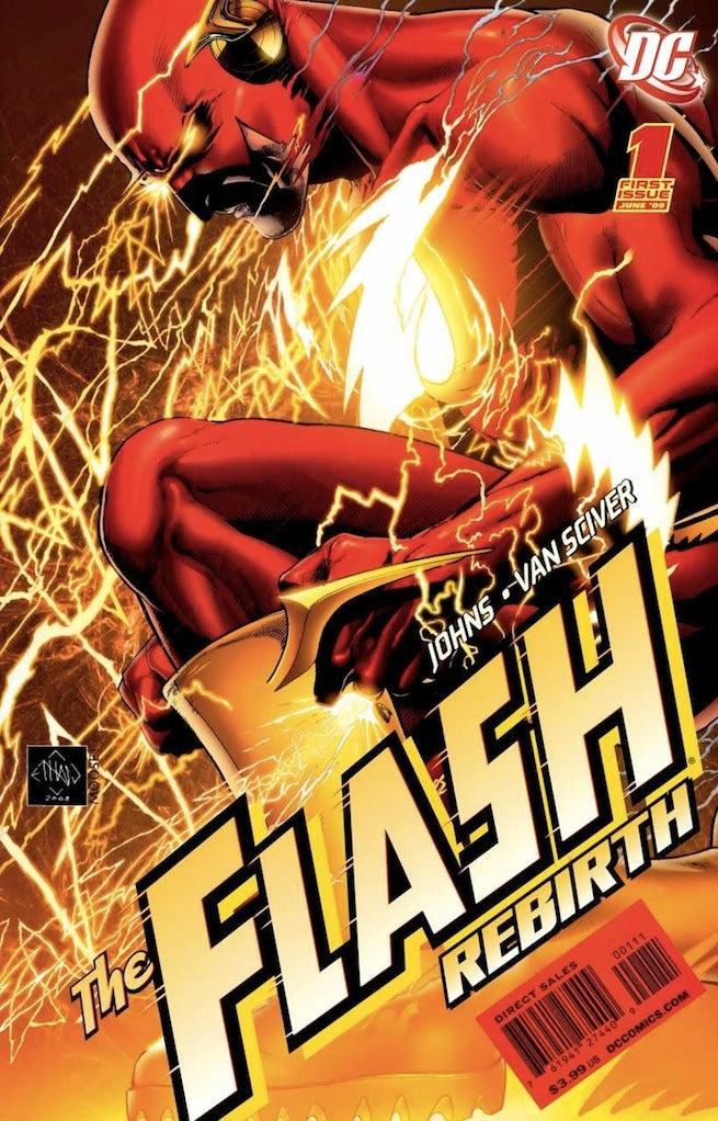 Flash Rebirth 1 cover