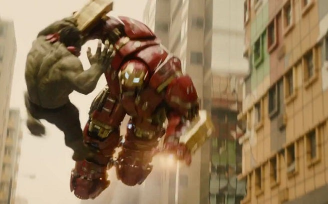 hulkbuster in action