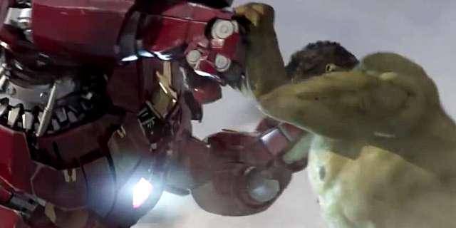 Iron Man Hulkbuster Vs. Hulk Fan-Made Teaser Trailer